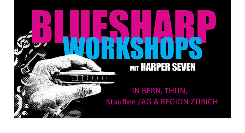 Harper Seven Blues Harp Workshops